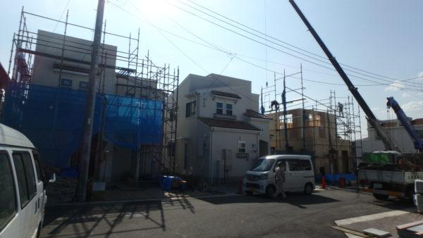 2期建築中現場写真