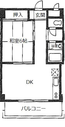 サンライズ 102号室