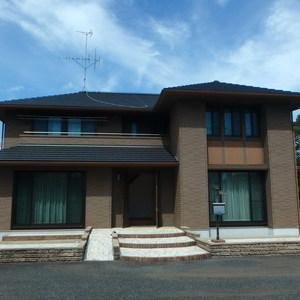 積水ハウス施工「シャーウッド」敷地300坪、建物70坪!ログハウスとシャッター付きガレージ付き!
